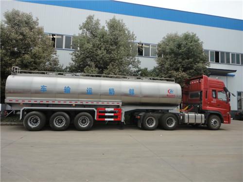 35吨鲜奶运输半挂车