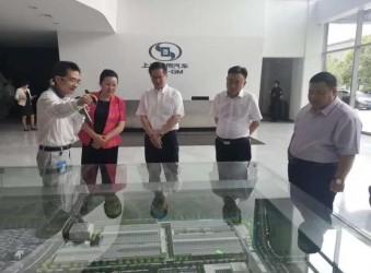 程力企业负责人程阿罗总经理陪同随州市市长郭永红