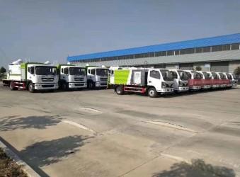 热列祝贺四川环保建设订购的多功能抑尘车顺利交付