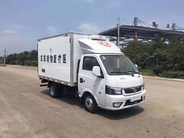 国六东风途逸医疗废物转运车