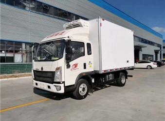 厢式车厂家新品推荐-国六重汽豪沃冷藏车