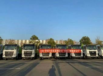 12台抑尘车整装出发支援南疆基础设施建设,赞!