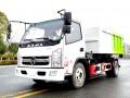 十吨王勾臂垃圾车-自卸和对接的完美结合