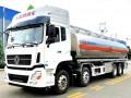 罐式车厂家 国六东风天龙铝合金油罐车正式进入市