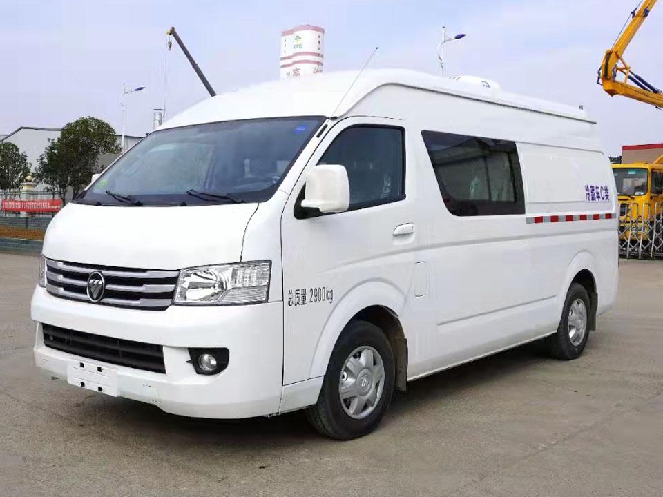 福田风景G9冷藏车